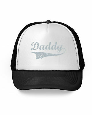 Men/'s Soon To Be Daddy Trucker Hat Red//White Baby Father Dad Expecting Gym V154