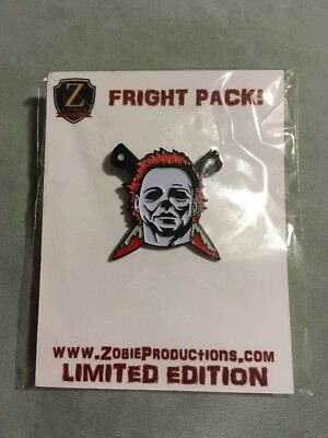 "Fright Crate ""Michael Myers w/Knives"" Pin - only 200 made"