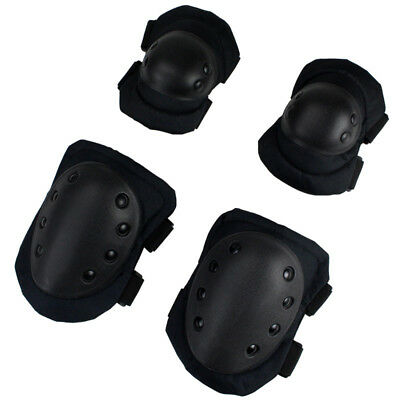 Outdoor Elbow Knee Pads Protective Combat Tactical Military Protector Gear BM1