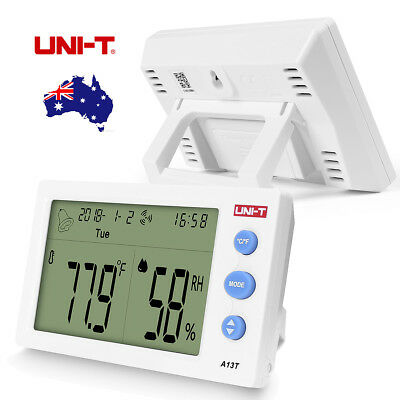 UNI-T A13T Thermometer Humidity Monitor Wireless Hygrometer for Indoor & Outdoor