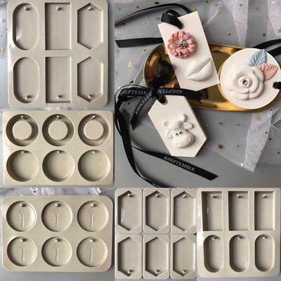 3D Silicone Candle Insert Mold DIY Jewelry Fondant Cake Cupcake Soap Drop Mould