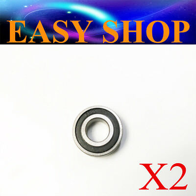 2PCS 6900-2RS 6900RS Deep Groove Rubber Shielded Ball Bearing (10mm*22mm*6mm)