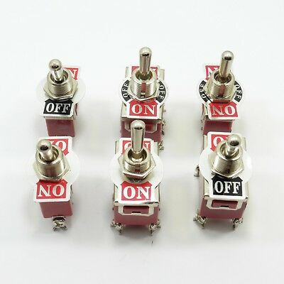 Universal Panel Mount Toggle Switches Flick SPST DPDT DPST SPDT Different Type
