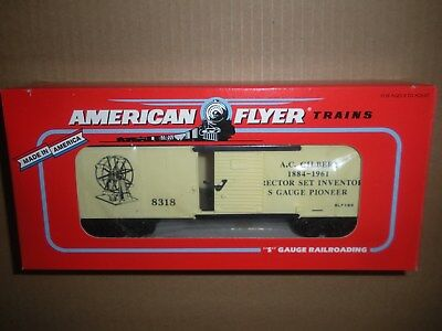 American Flyer by Lionel S Scale 6-48318 A. C. Gilbert Boxcar NEW