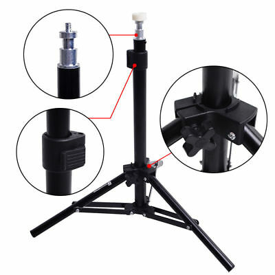 Photo Studio Mini Aluminum Backlight Light Stand Tripod Video Lighting Kit