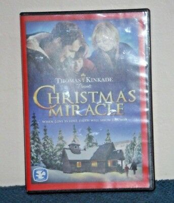 Thomas Kinkade Christmas Miracle 14 X 14 Gallery Wrapped Canvas