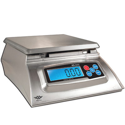 Digital Kitchen Weighing Scales - My Weigh KD7000 - 7 kg Max x 1g Display Silver