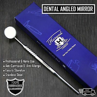 Dental Mirror with Texture Handle Excellent Quality Surgical Dental Instruments