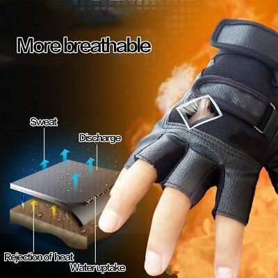 Weight Lifting Gym Sports running Fitness Training Gloves Body Building