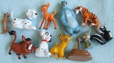Small Collection of DISNEY Figures Toys - Lion King Jungle Book Bambi etc
