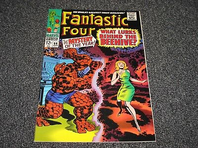 Fantastic Four #66 (Second Printing 1990s) VG