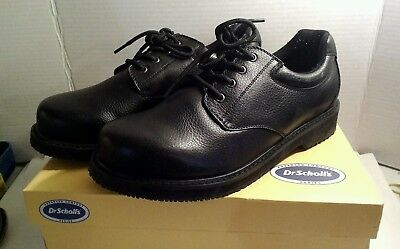33323587902 MEN'S BLACK SHOES Dr. Scholls Dyna Step Size 10 ½ W, Non Marking ...