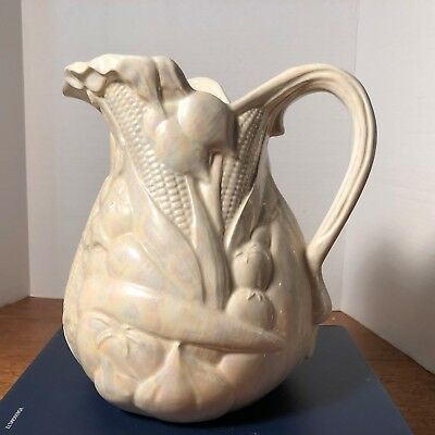 Very old hand made Luster ware Water Jug,