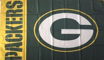 GREEN BAY PACKERS Chicago Bears House Divided Flag 3x5 Banner Man ... 3c2ad95f5