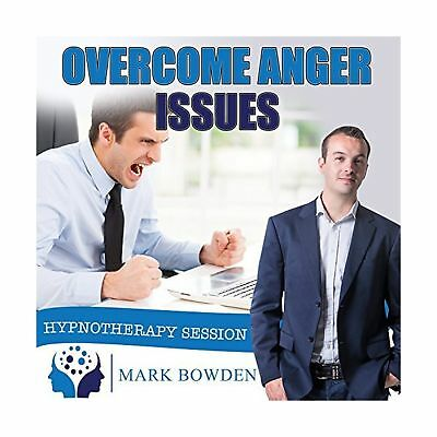 Overcome Anger Issues Self Hypnosis CD - Hypnotherapy CD to Control Your Ange...