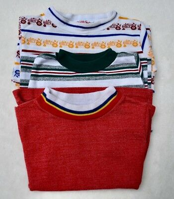 Vintage Healthtex And Buster Brown Boys Shirts 2T Short Sleeve Lot