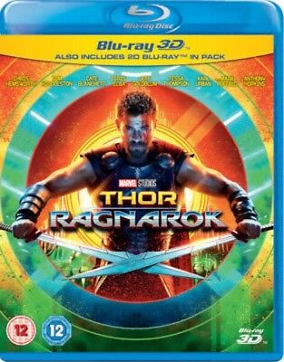 Thor: Ragnarok  [Blu-ray 3D + blu-ray] New and Factory Sealed!!