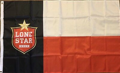 Lone Star Beer Flag Banner 3x5 ft USA Brewery Texas