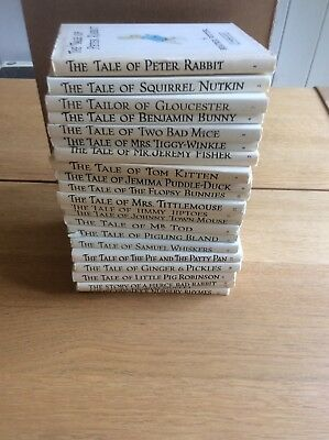 22 Vintage Beatrix Potter Books. Free Uk P&P