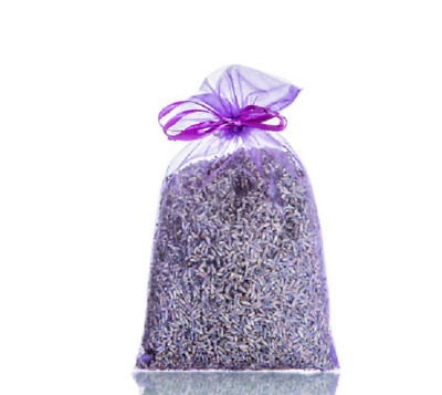 Lavender Sachets/Bags from the UK in 7 x 9 cm Organza Bags