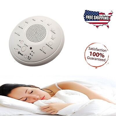 Sound Spa Relax Machine Nature Night Peace Therapy White Noise Baby Easy Sleep