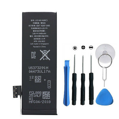 1440mAh 3.8V Replacement Internal Battery with flex cable  for iPhone 5 5G