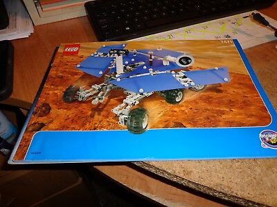 Lego Mars Mission Mars Exploration Rover 7471 Instruction Manual