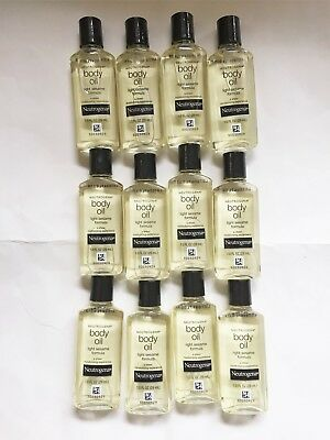 Neutrogena Body Oil Light Sesame Formula **Lot of 12**