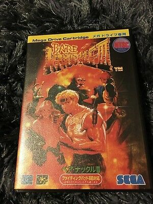 Street of Rage 3 SEGA Mega Drive JAP Version - Custom Game - Grade AAA+++