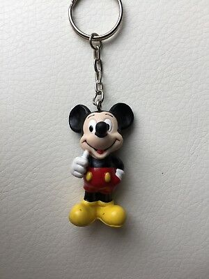 Disney Mickey Mouse Minnie Mouse Classic Key Ring Keychain - Pick 1 of 2 Styles!