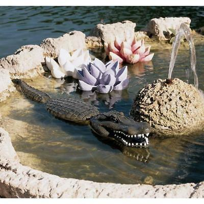 "33"" Alligator Crocodile Statue Sculpture Figurine [Kitchen]"