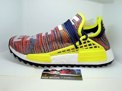 d4855a4eed6ff Adidas PW Human Race NMD TR Size 7.5 US Multi Color AC7360 NEW Pharrell  Williams