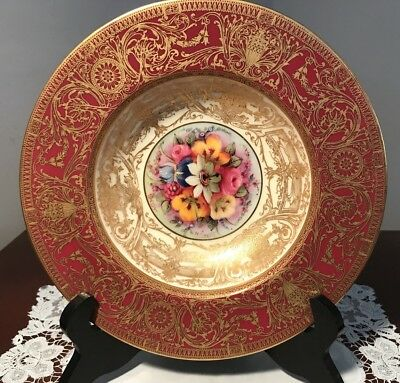 Beautiful Royal Worcester Hand Painted Dish