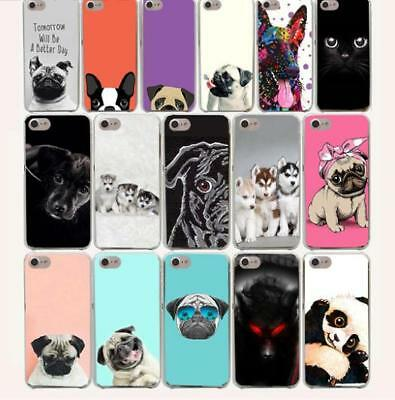 for iphone 5 6 7 8 x Tomorrow Will Be A Better Day Dog Pug Hard Phone Cover Case