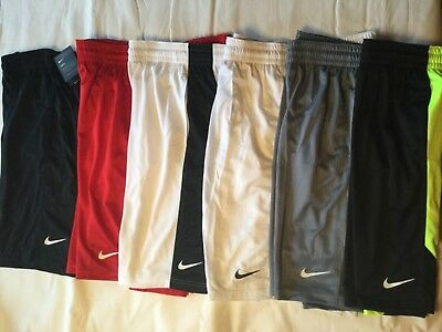 Nike Training Basketball Running Shorts New Tags Men Blue Red White Yellow Black