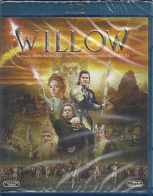Blu-ray WILLOW with Val Kilmer new sealed 1988