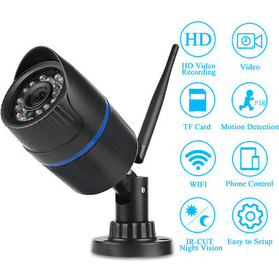 HD 1080P Smart Wifi Wireless CCTV Outdoor Security IP Camera YooSee Night Vision