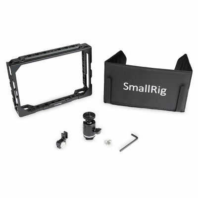 SMALLRIG 7 '' monitor cage with Sunhood for Blackmagic Video Assist 1988