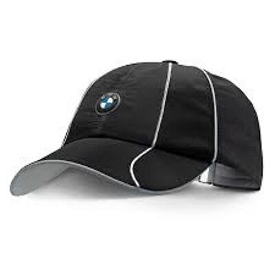 BMW Athletics Sports Cap Black Genuine BMW Lifestyle Range 80162361127