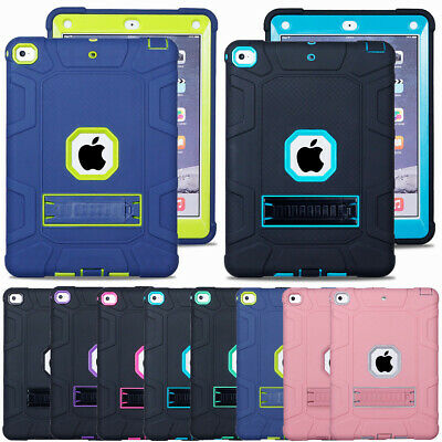 """For New iPad 9.7"""" 6th 2018 A1893 / A1954 Hybrid Rubber Hard Tablet Case Cover"""