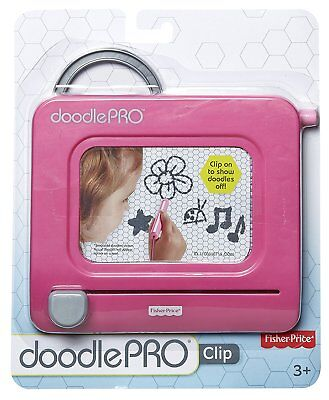 Fisher-Price Clip-On Doodle Pro, Pink (CHP52)