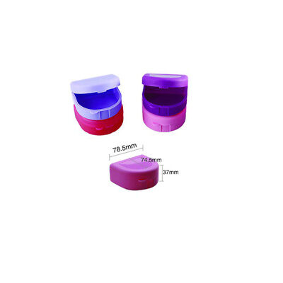 Denture Box Dental Teeth Box Mixed Color Denture Retainer 200pcs Wholesale Wd