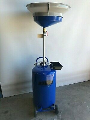 Oil Collection unit 80 Ltr, waste oil drainer under hoist air to empty  (OD80,O)
