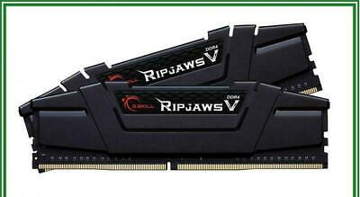 G.Skill RipjawsV 32GB (2X16GB) DDR4 3200MHz CL16 Gaming Desktop Memory RAM Kit