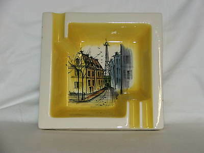 Vintage Retro ~ Studio Anna 1950's Australian Studio Anna Large Ashtray ~ Yellow