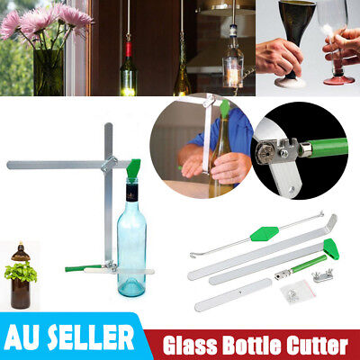 Glass Wine Beer Bottle Jar Cutter Machine Recycle Tool Kit Craft Art Cutting DIY