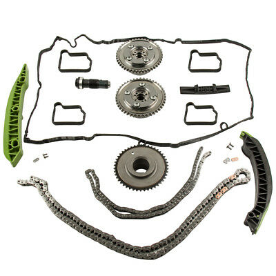 Camshaft Adjuster Timing Chain Kit For Mercedes W203 W204 SLK250 E250 M271 C200