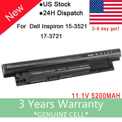 65Wh Battery for Dell Inspiron MR90Y 14R (5421 5437) 15R (3521) 17R (5521 5537)