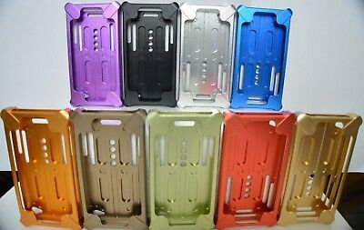 Hard Durable Shockproof Metal Aluminum Bumper Housing Case Cover For iPhone 4 4S