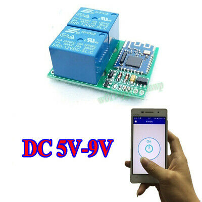 DC 5V Bluetooth Relay Switch Module Wireless Mobile Phone APP Remote Control New